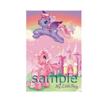 MY LITTLE PONY IRON ON TRANSFER 3 SIZES FOR LIGHT OR DARK FABRIC
