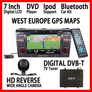 IN DASH MAZDA3 DVD WEST EUROPE GPS MAPS REAR CAM EURO DIGITAL DVB TV