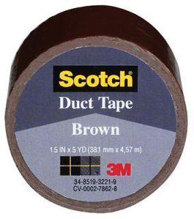 Handmade Duct Tape Bookmark Book Mark Leopard Print Cat Brown Spots