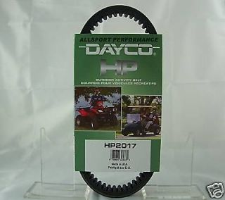 John Deere Dayco Drive Belt Trail / Gator HPX HP2031 Replaces VG10928