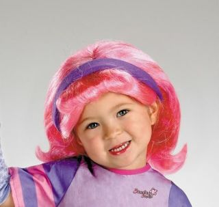 DEE DEE DOODLEBOPS WIG COSTUME DRESS NEW DG14656