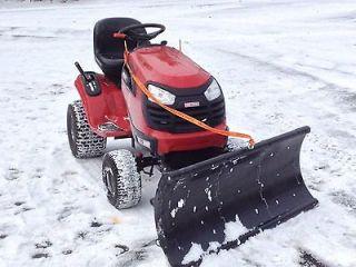 UNIVERSAL FI Garden racor Snow Plow Lighweigh Works on Gravel