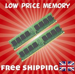 2GB 2x1GB 2 RAM MEMORY Dell Inspiron 530 530S 545 PC