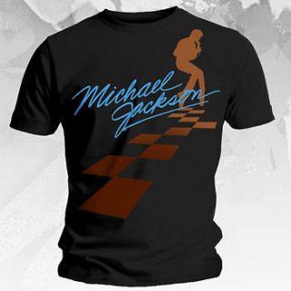 MICHAEL JACKSON Dancing on Squares T Shirt **NEW band music concert