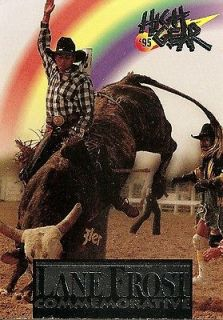 1995 HIGH GEAR RODEO ~ LANE FROST COMMEMORATIVE ~ LF 1