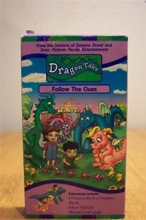 Dragon Tales FOLLOW THE CLUES VHS VIDEO