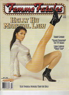 KELLY HU Femme Fatales 5/99 ELKE SOMMER PANDORA PEAKS