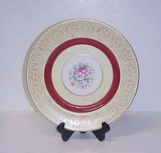 PAREEK JOHNSON BROS ENGLAND DINNER PLATE YELLOW