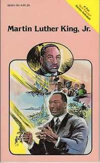 Newly listed Martin Luther King Jr. Biography Pocket Mini Comic Scarce