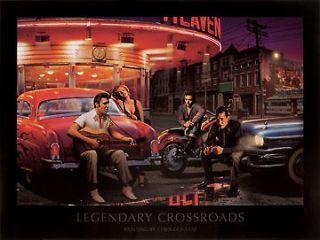 Crossroads Chris Consani Elvis Monroe James Dean print 24x32 poster