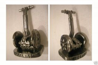 SEGWAY TWO WHEEL SCOOTER MINI METAL MONOPOLY 1 METAL FIGURINE TOKEN