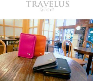 ] Full Design Travelus Folder Travel Passport Ticket