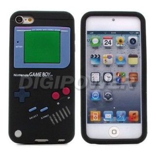 Newly listed BLACK GAMEBOY DESIGN COOL CASE COVER SKIN FOR APPLE IPOD