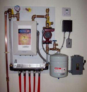 Electric   Shop   Garage   Basement Radiant Floor Heater Kit RMS 11