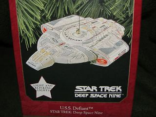 Star Trek U.S.S. Defiant Deep Space 9, Hallmark Keepsake Ornament
