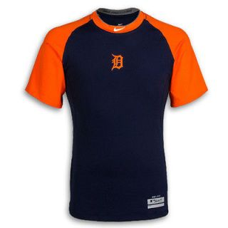 Detroit Tigers 2012 Pro Combat ROAD Short Sleeve Fitted Tee by Nike