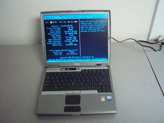 Dell Latitude D600 Laptop Computer   1.6GHz / 512mb