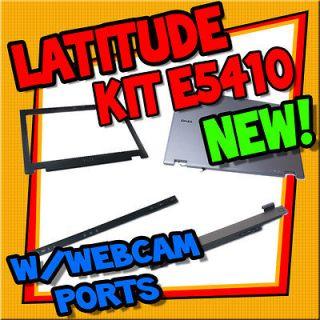 New OEM Dell Latitude E5410 14.1 Plastic Cover Kit W/ Webcam Ports