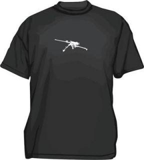 M2 50 Cal Machine Gun Logo Mens tee Shirt Pick SM 6XL