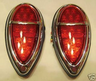 Vintage Style 1939 FORD LED Signiture Series Tail Lights COOL CUSTOM