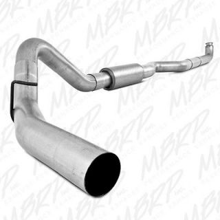 Down Pipe Back Exhaust 01 07 Chevy/GMC Duramax 6.6L Diesel S6004P