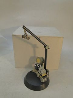 GOEBEL DISPLAY STAND FOR MICKEY MOUSE DIRECTORS CHAIR FIGURINE w BOX
