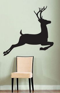 Vinyl Wall Decal Sticker Deer Hunting Design 43x43Big