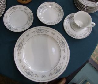 Pc Wade DIANE Fine Porcelain China of Japan PLACE SETTING in EXC