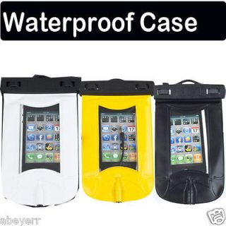 Waterproof Bag Pouch Case for iphone ipod Phone MP4 + Armband Earphone