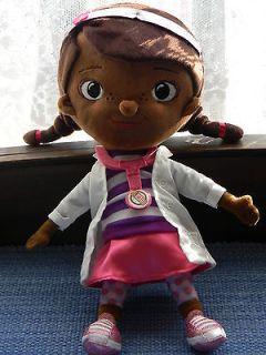 DOC McSTUFFINS Plush Toy DOTTIE DOLL Girl Doctor Disney Jr. 12 NWT