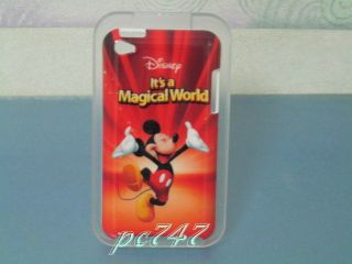 Mickey Mouse Hard Cover Case iPod Touch 4th w/GIFT #13