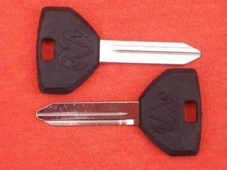 DODGE RAM HEAD KEY BLANKS 94 95 96 97 98 99 2000 (Fits Dodge Neon)