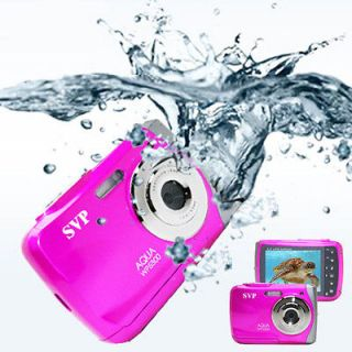 18MP Max. Pink Digital Camera + Camcorder *WaterProof*  BRAND NEW
