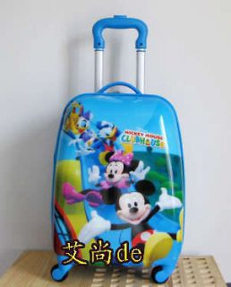 Mickey Mouse Luggage Bag Case Baggage Trolley Roller SKU 1068454336 0