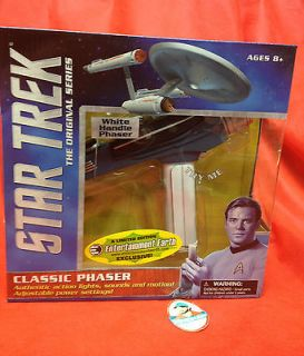 Star Trek Classic White Handle Phaser by Diamond Select