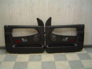 04 06 Dodge RAM 1500 SRT 10 OEM Black Door Trim Panels