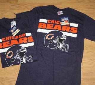 Vintage Chicago Da Bears t shirt NWT NFL football Ditka McMahon Fridge