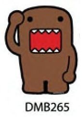 Car Magnet DOMO KUN NEW Brown Salute Toys Gift Stationary Licensed