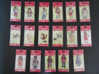 American Girl Doll Craft Scrapbooking Bubble Stickers Party Favors
