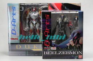 Bandai Digimon Tamers D Arts Dukemon and Beelzemon Action figure