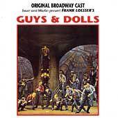 Guys and Dolls [Original Broadway Cast]   Soundtrack VERY GOOD (CD