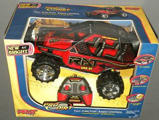 500 RT Pro Dirt Buggy Red New Bright BRP Remote Radio Control Car NEW
