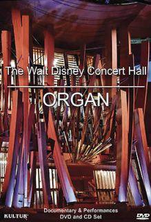 THE WALT DISNEY CONCERT HALL ORGAN   NEW DVD BOXSET