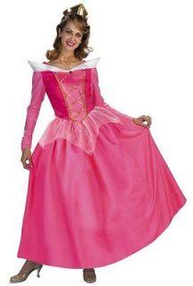 Disney Princess Sleeping Beauty Pink Dress Up Halloween Adult Costume