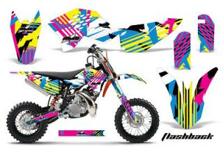 Dirt Bike Graphic Kit Decal Sticker KTM SX50 Parts SX 50 09 12 FLASH