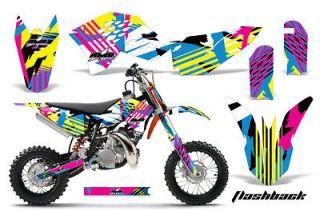 Dirt Bike Graphic Kit Decal Sticker KTM SX50 Parts SX 50 09 12 FLASH