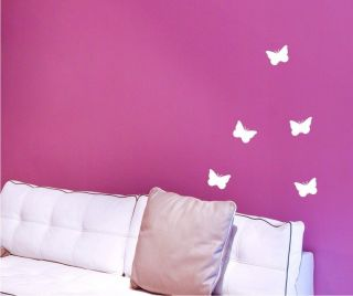BUTTERFLIES butterfly Vinyl WALL CAR STICKERS sticker