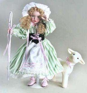 Ashton Drake LITTLE BO PEEP Wendy Lawton Nursery Rhymes porcelain doll