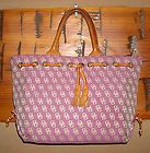 Dooney & Bourke Signature Purple, Large Luna, Hobo, Calf, Handbag