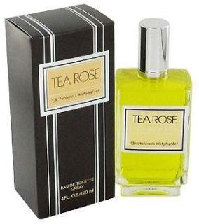 TEA ROSE * Perfumers Workshop * Perfume for Women * 4.0 oz * NEW IN